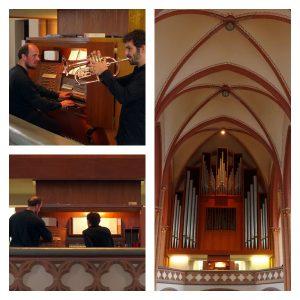 Duo ZIA in der Kreuzkirche Viersen