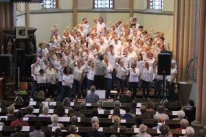 Abschlussgottesdienst des Gospelworkshops